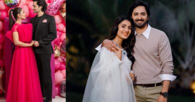 Ayeza Khan and Danish Taimoor celebrates 7th wedding anniversary