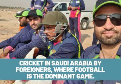 Cricket in Saudi Arabia